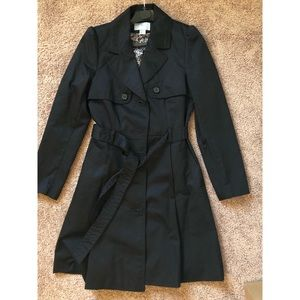 NWOT H&M Flared Trench Coat size 8